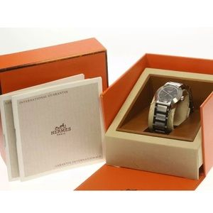 Authentic Hermes watch with Box